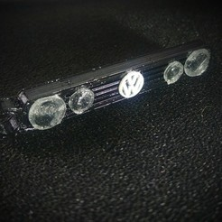 20200508_165147_HDR~2.jpg Download free STL file Keyring Grill VW Golf mk2 • Template to 3D print, LnZProd