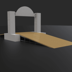 untitled.81.png Download STL file Rally ramp 1:64 • 3D print design, LnZProd