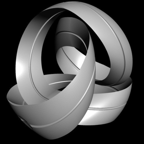 Télécharger modèle 3D gratuit Mobius Ribbon, MikaBZH