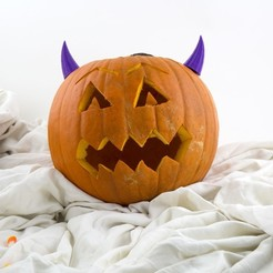 Download free 3D printing files Pumpkin Devil, Hom3d