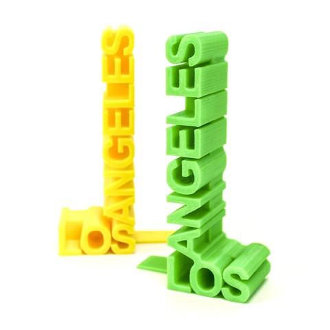 8b6eaa3db4e31a4a479c4cd12374f97c_1443222342315_NMD000582_1790_@2x.jpg Download free STL file LA Bookends • Template to 3D print, Hom3d
