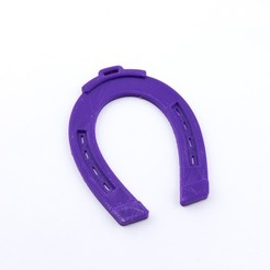 Free 3D printer files Horseshoe Ornament, Hom3d