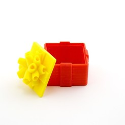Descargar Modelos 3D para imprimir gratis Caja de regalo, Hom3d