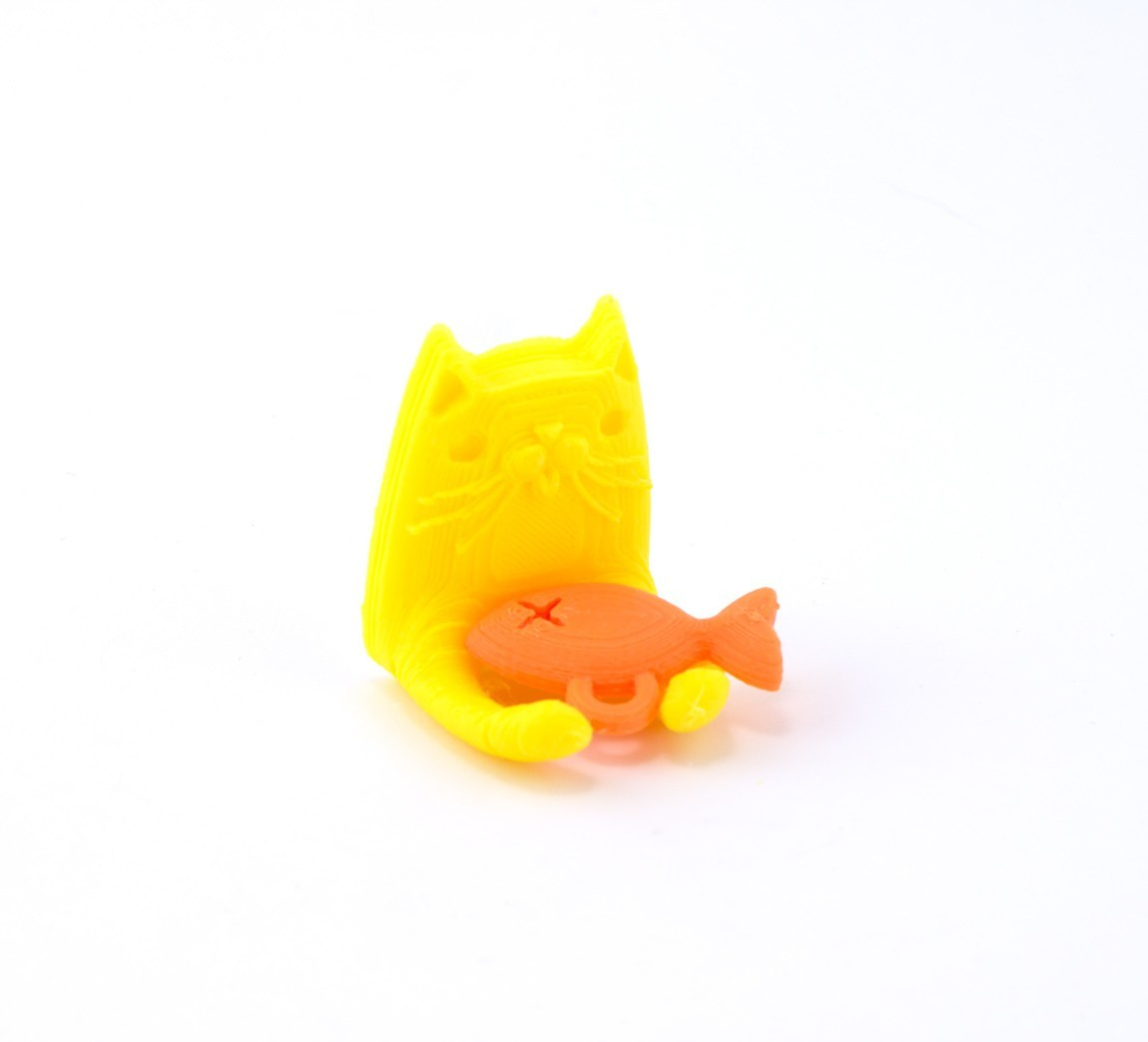 659737632d9c1469cdfca1fd7e4b7715_1449188244812_NMD00475-3.jpg Download free STL file Kitteh Key Holder • Model to 3D print, Hom3d