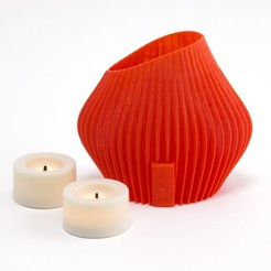 Download free STL file Tealight Shade, Hom3d