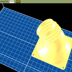 Descargar STL gratis Adaptador de ventilador a tubo flexible de 80 mm para PC, sadsamseal