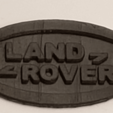 Download free 3D printing files Land Rover Logo Keyfob, sadsamseal