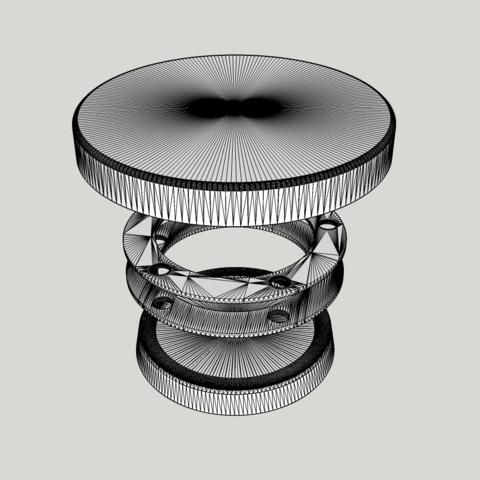 Télécharger fichier impression 3D gratuit Plateau tournant, cmdrvarek
