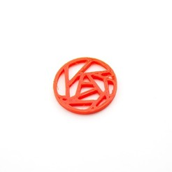 Download free 3D printer designs Shatter Pendant, Lucy_Haribert