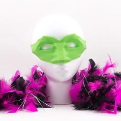 Modelos 3D para imprimir gratis Máscara de la mascarada, Lucy_Haribert