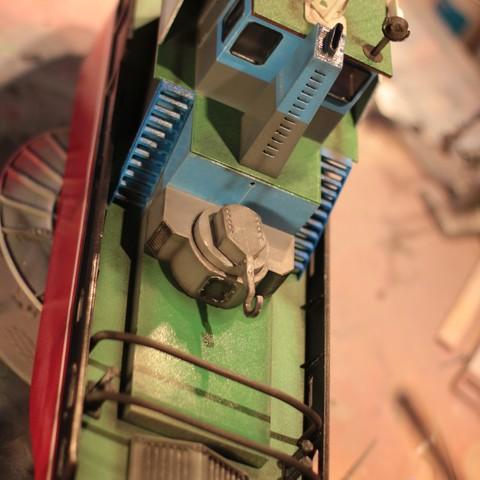 IMG_9102.JPG Download STL file MONAKO RC MODEL BOAT TUG • 3D printable template, maca-artwork