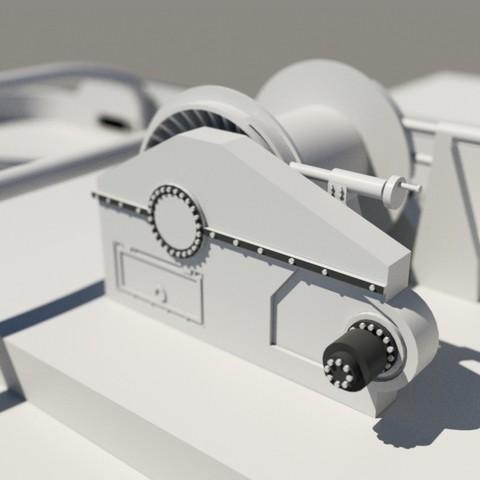 render6.jpg Download STL file MONAKO RC MODEL BOAT TUG • 3D printable template, maca-artwork