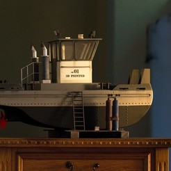 3d printer files SPRINGER Tugboat HD, maca-artwork