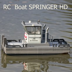 Download 3D printing models SPRINGER Tugboat HD, maca-artwork