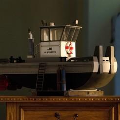 3d printer files SPRINGER Tugboat HD, maca-artwork
