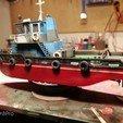 obr17.jpg Download STL file MONAKO RC MODEL BOAT TUG • 3D printable template, maca-artwork