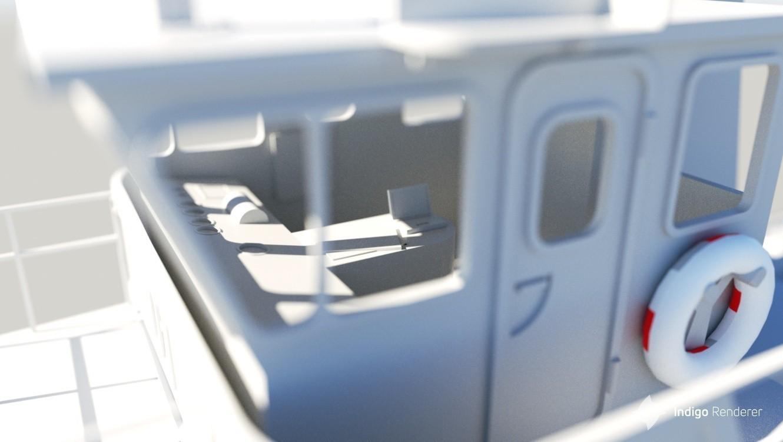 render3.jpg Download STL file MONAKO RC MODEL BOAT TUG • 3D printable template, maca-artwork