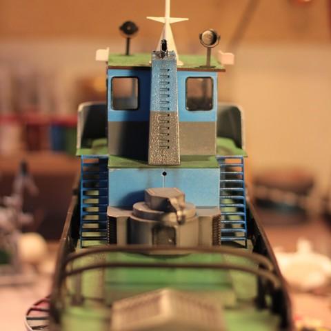 IMG_9097.JPG Download STL file MONAKO RC MODEL BOAT TUG • 3D printable template, maca-artwork
