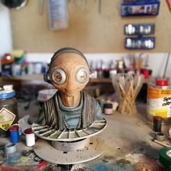 Fichier 3D gratuit Maz bustier, sculpteur Mudbox très détaillé., maca-artwork