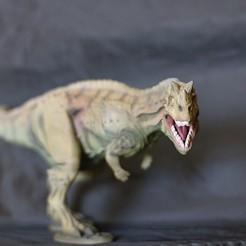 Imprimir en 3D gratis Ceratosaurio dinosaurio, maca-artwork