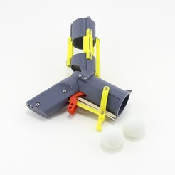 Download free 3D printer designs Ping Pong Ball Launcher, FerryTeacher