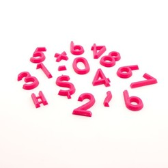 Fichier 3D gratuit Aides arithmétiques, FerryTeacher