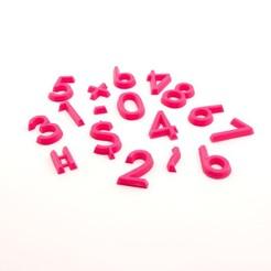 modelo stl gratis Ayudas aritméticas, FerryTeacher