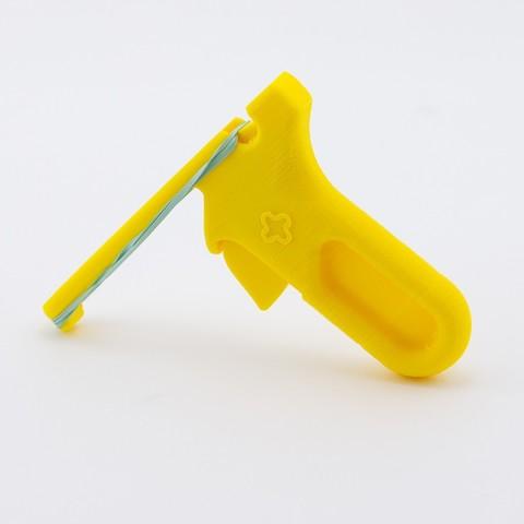 Free STL Rubber Band Launcher, FerryTeacher