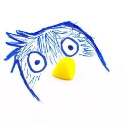 Impresiones 3D gratis Títeres, FerryTeacher