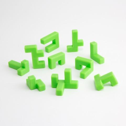 caba29fe59dd68c3356d71d1db495dc6_1444847284162_NMD000318f.jpg Download free STL file 4x4 Puzzle Cube • 3D printer model, FerryTeacher