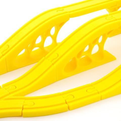 91cb4f62ceb4627f4039d91b0e40adb8_1449686556365_12.2.15-product-shoot-026.jpg Download free STL file Toy Train Tracks • 3D printer design, FerryTeacher