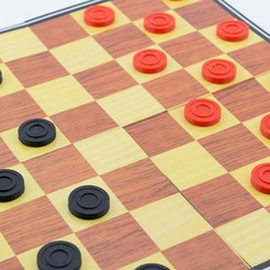 Free 3d model Checkers, FerryTeacher