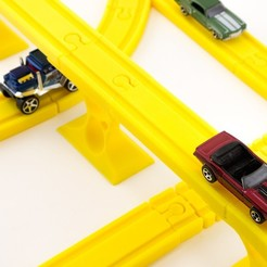 Download free 3D printing models Toy Train Tracks, FerryTeacher