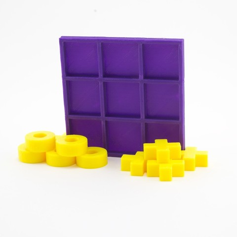 8bf1a116fb323d1c4b440998994d330c_1444429100812_NMD000095a.jpg Download free STL file Tic-Tac-Toe • Template to 3D print, FerryTeacher