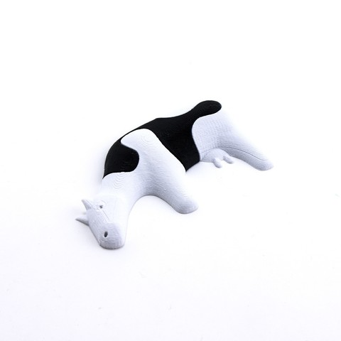 Free 3D print files Jigsaw Cow, FerryTeacher