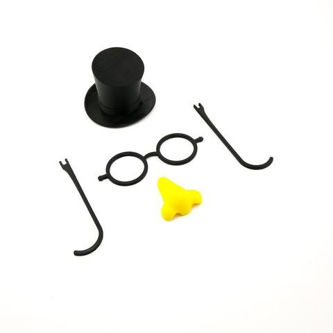 STL gratis Kit de decoración de muñeco de nieve, FerryTeacher