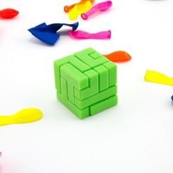 modelos 3d gratis Cubo del rompecabezas 4x4, FerryTeacher
