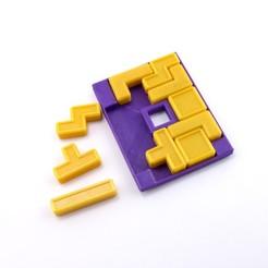 Impresiones 3D gratis Quatris Puzzle, FerryTeacher