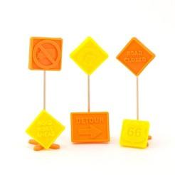 Download free 3D model Road Signs, Emiliano_Brignito