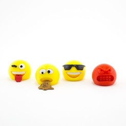 Download free 3D printer files Emojis!, Emiliano_Brignito