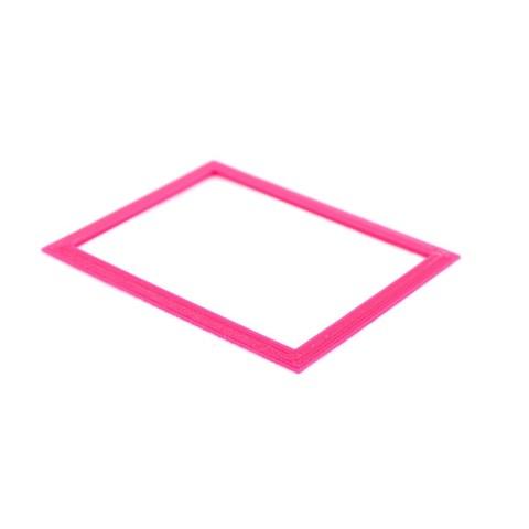 Free STL file Modern Rectangle Frame, Emiliano_Brignito