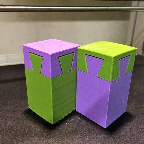 Free 3D printer files Impossible Salt/Pepper Shaker, 3DPrintNovesia