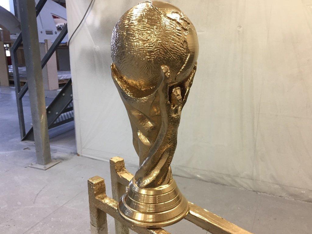 5ef8a0e4c09fe4d063b1275e798996ee_display_large.jpeg Télécharger fichier STL gratuit Trophée de la Coupe du Monde de la FIFA (Solid Verison) • Plan imprimable en 3D, 3DPrintNovesia
