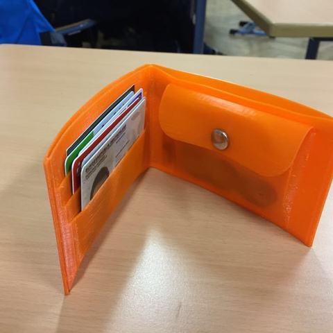 Imprimir en 3D Billetera TPU (Básica; Bolsillo para monedas), 3DPrintNovesia