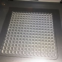 Download free 3D printer designs Grid (on Fabric), 3DPrintNovesia