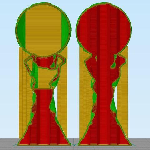 4f421f949b2c253c64c9e244a0352ede_display_large.JPG Télécharger fichier STL gratuit Trophée de la Coupe du Monde de la FIFA (Solid Verison) • Plan imprimable en 3D, 3DPrintNovesia