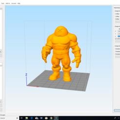 3D printer files XMEN juggernaut, cewoner