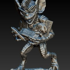 Download free 3D printer designs Stripe Gremlin, 3rdesignworks