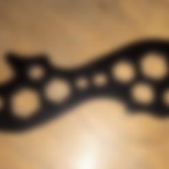 modelos 3d gratis Llave adaptable para pernos hexagonales, 3rdesignworks