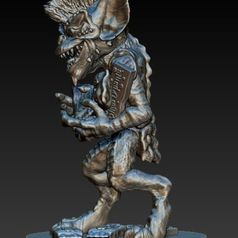 Gremlin1c.jpg Download free STL file Stripe Gremlin • 3D printer model, 3rdesignworks